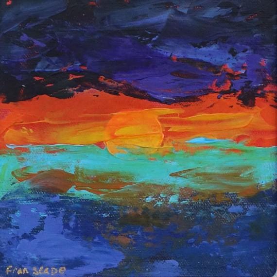 ENCROACHING DARK by Fran Slade