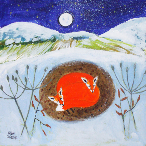 COSY FOXES by Fran Slade