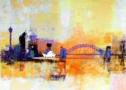 SYDNEY COATHANGER by Colin Ruffell