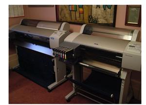 "44"" and 24"" Epson Stylus Pro printers"