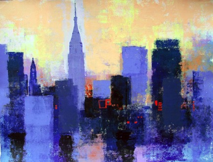 NEW YORK by Colin Ruffell