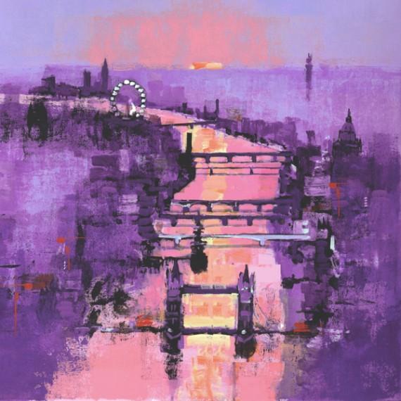 River Thames Sunset new version