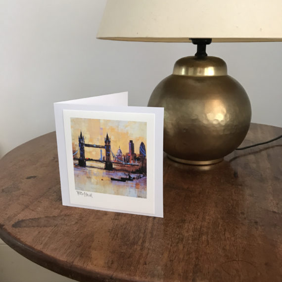 Colours of London card