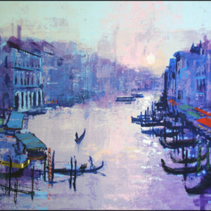 GRAND CANAL original painting by Colin Ruffell