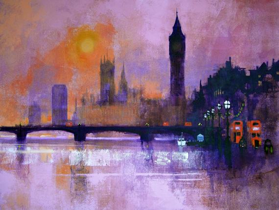 Westminster Sunset