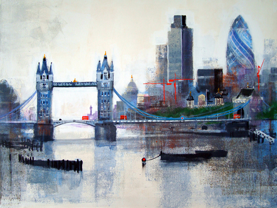 THAMES AND TOWERS