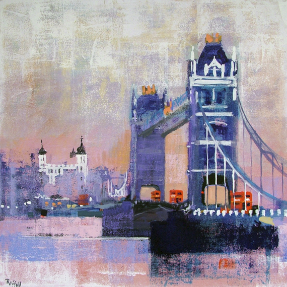 TOWER BRIDGE AND BUSES