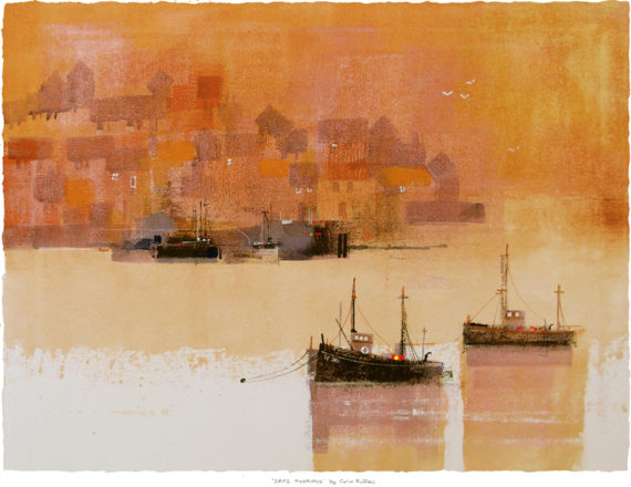 Safe Moorings by Colin Ruffell