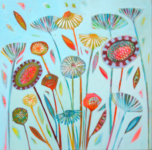 AUGUST FIELD by Shyama Ruffell