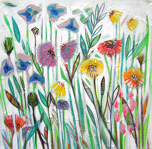 APRIL STEMS by Shyama Ruffell
