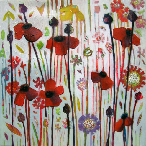 JUNE POPPY by Shayam Ruffell