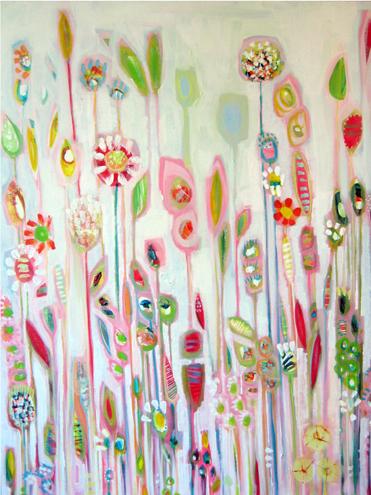 PINK GARDENS by Shyama Ruffell