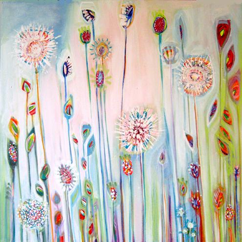Summer Garden by Shyama Ruffell