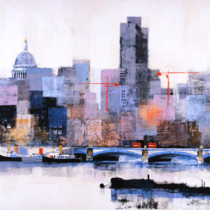 BLACKFRIARS BRIDGE by Colin Ruffell