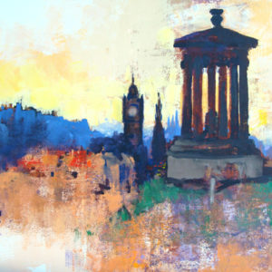 CALTON HILL by Colin Ruffell