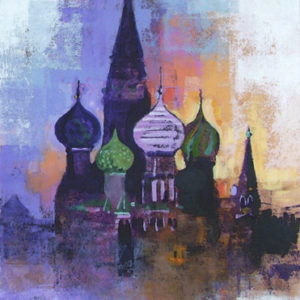 RED SQUARE MOSCOW by Colin Ruffell