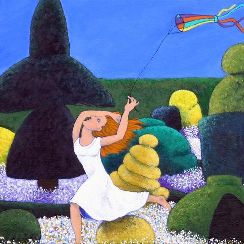 KITE FLYER by Fran Slade