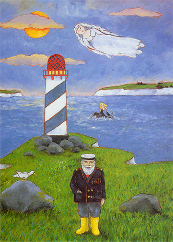 THE LIGHTHOUSE KEEPER by Fran Slade