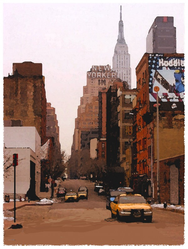 New Yorker by Colin Ruffell