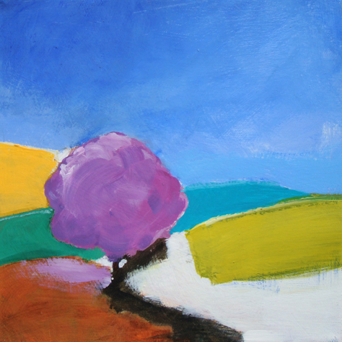 PURPLE TREE by Fran Slade