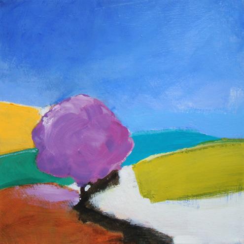 PURPLE TREE by Fran Slade