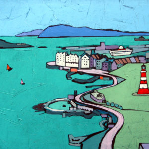 PLYMOUTH HOE by Colin Ruffell