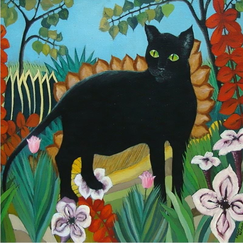 JUNGLE CAT by Fran Slade