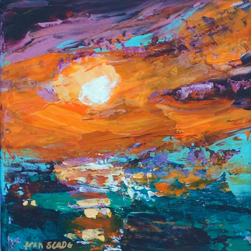 TANGERINE SKY by Fran Slade