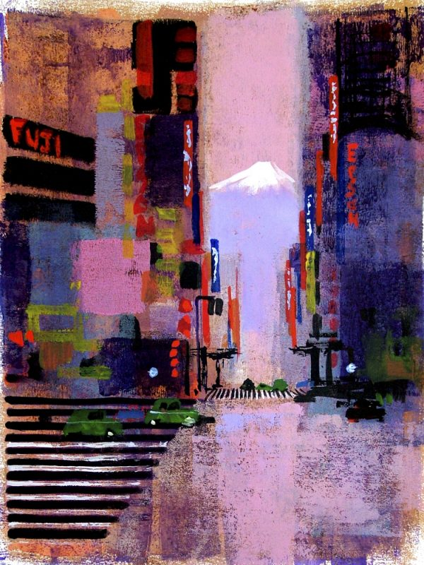 UP IN LIGHTS TOKYO by Colin Ruffell