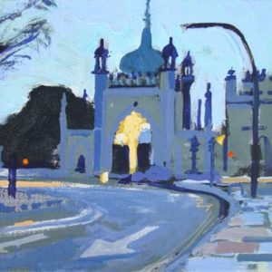 NORTH GATE DAWN by Colin Ruffell