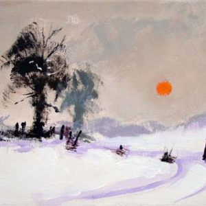 Sun and Snow by Colin Ruffell