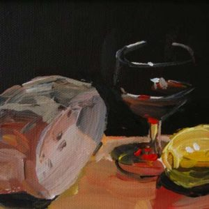 KITCHEN TABLE by Colin Ruffell