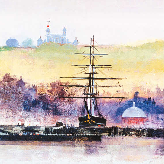 CUTTY SARK card