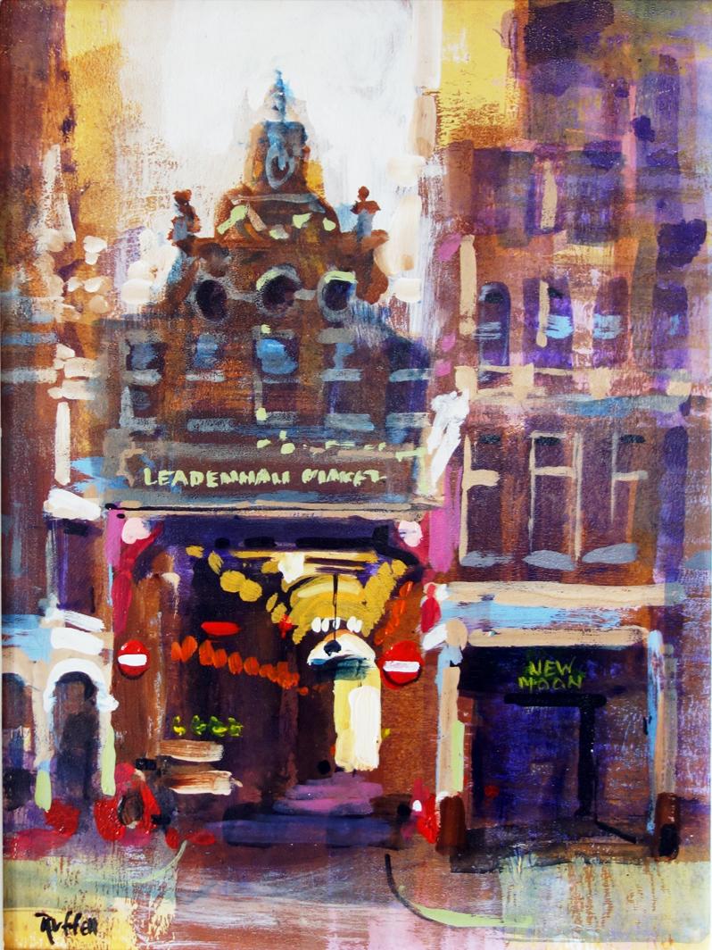 LEADENHALL MARKET by Colin Ruffell