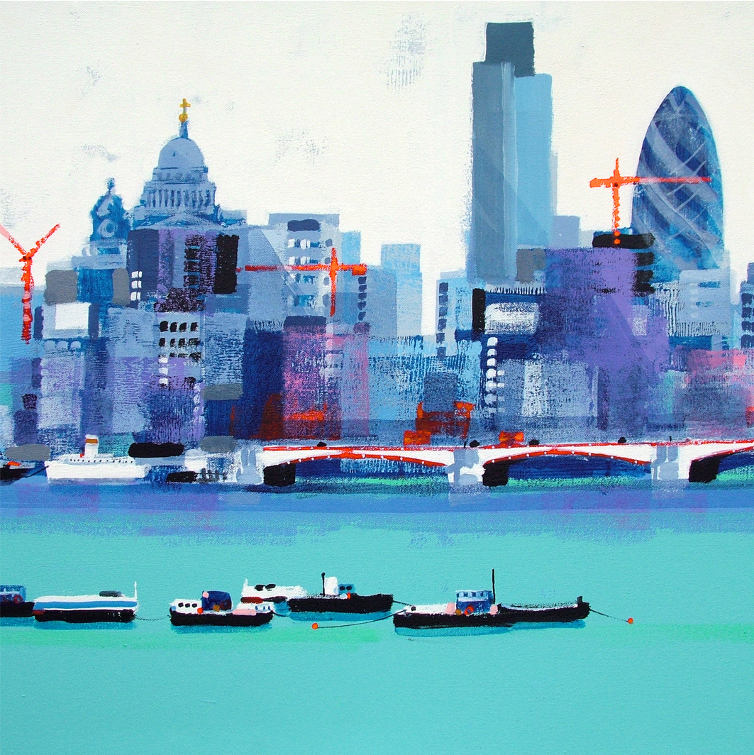 LONDON SKYLINE card