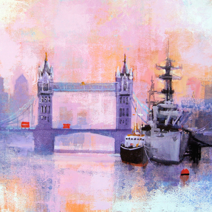 LONDON TOWER BRIDGE card