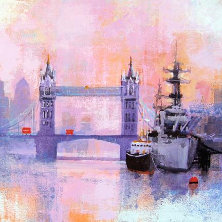 LONDON TOWER BRIDGE card