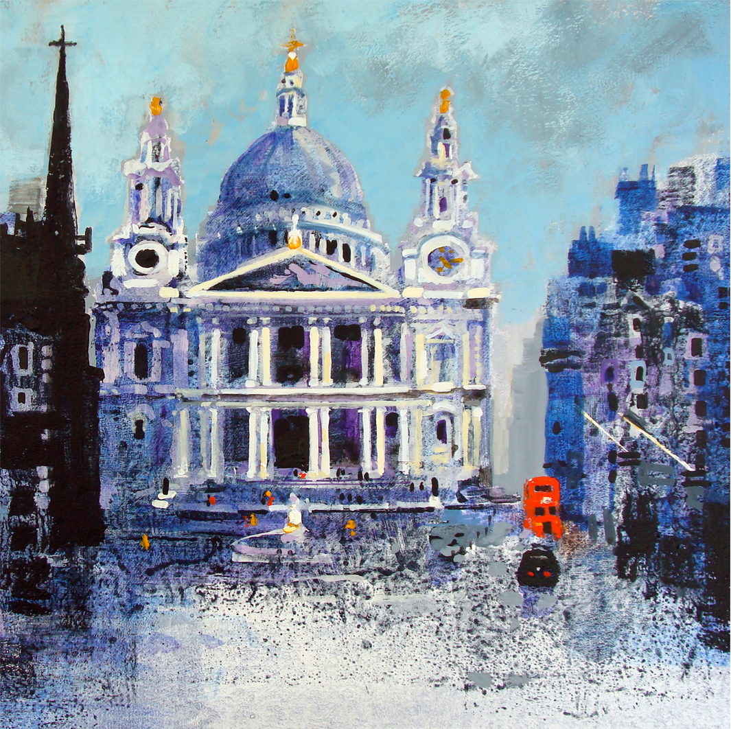 ST PAULS AND BUS card