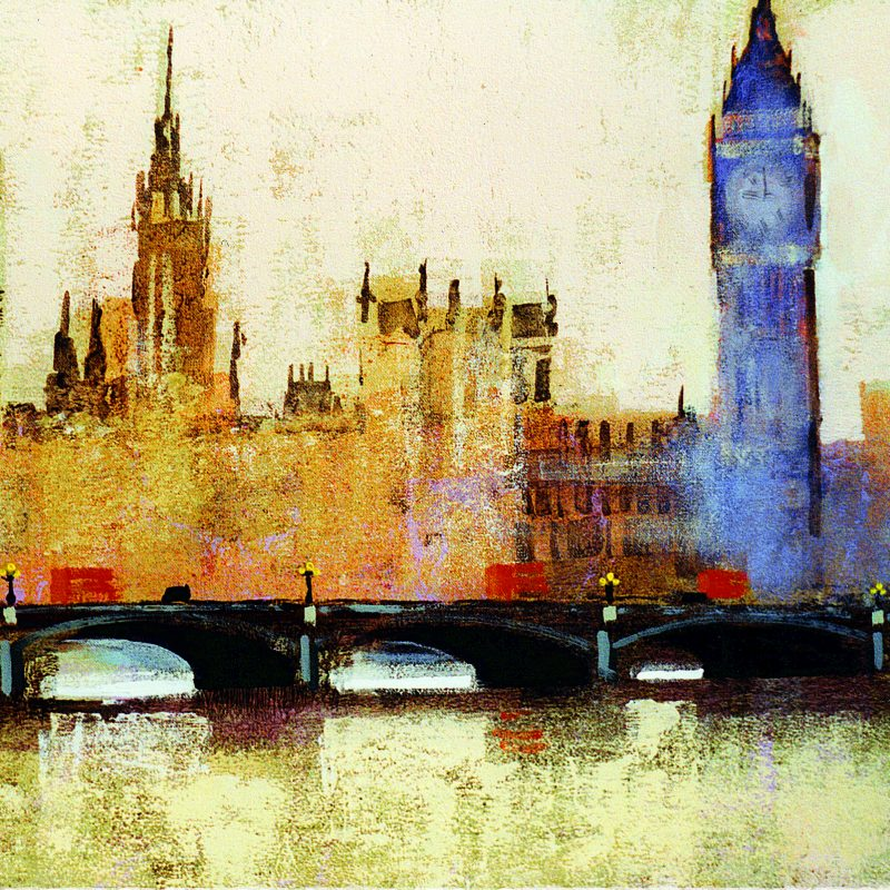 WESTMINSTER BRIDGE card