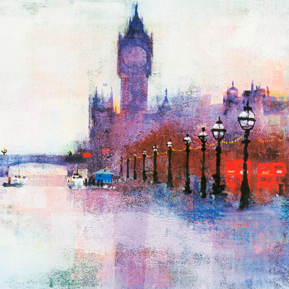 WESTMINSTER PIER card