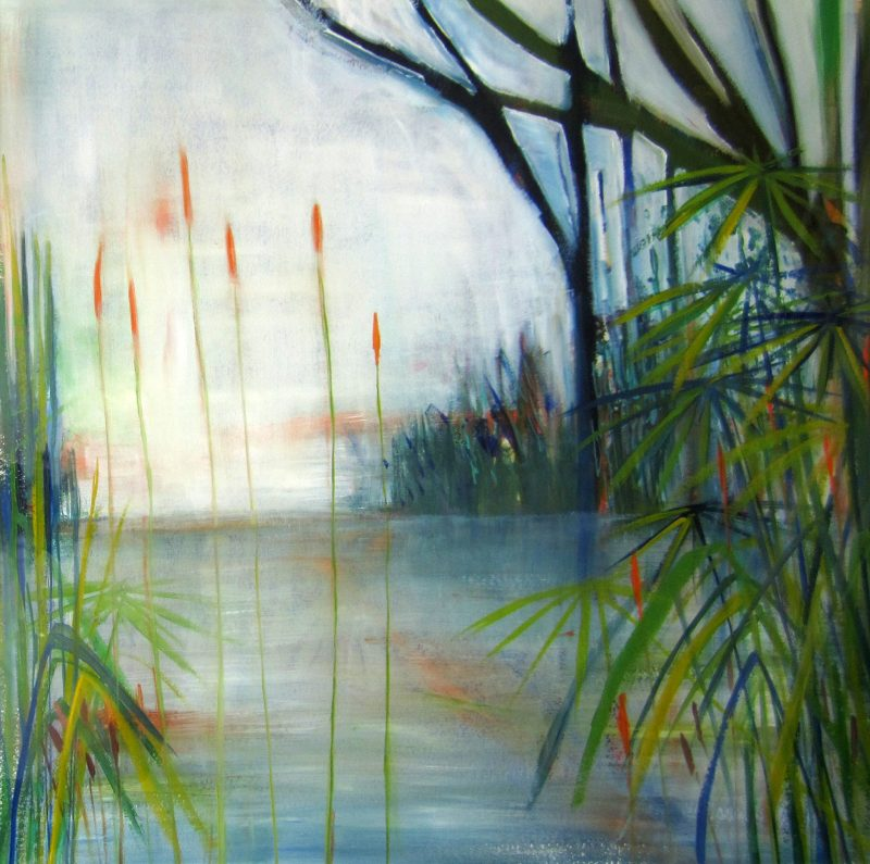 """BLUE LAKE …. """"A peaceful watery scene with reflections """" SR"""