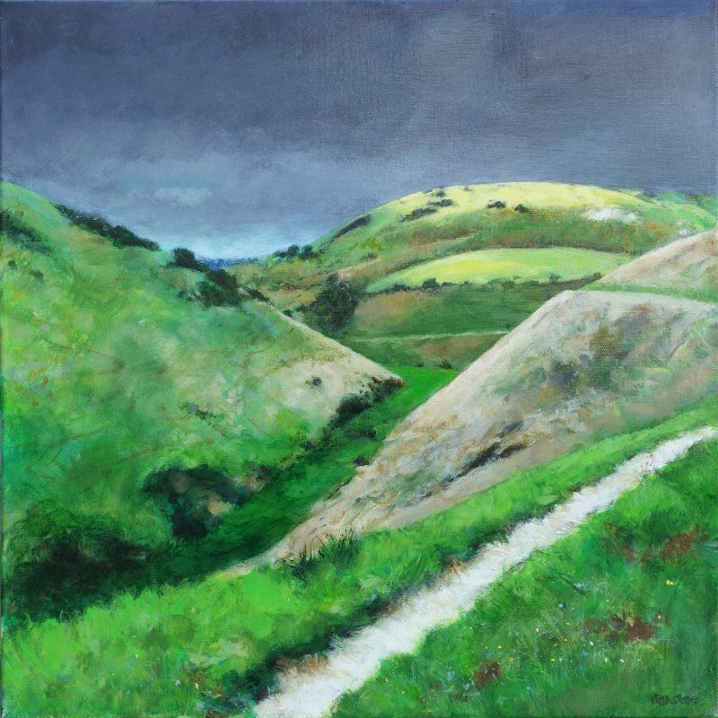 Chalk Path by Fran Slade