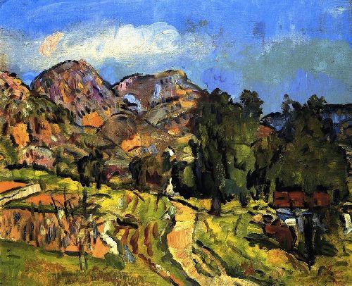 G L Hunter Provencal Landscape