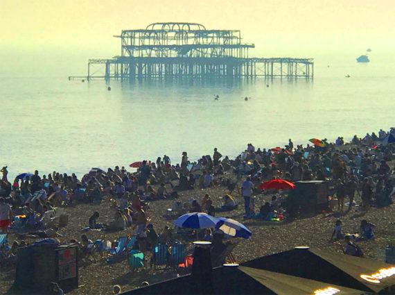 Bank holiday Brighton
