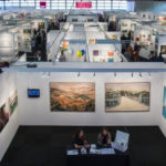Art fair stands