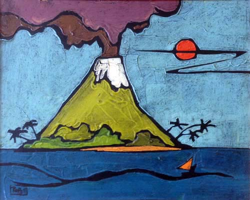 VOLCANO by Colin Ruffell
